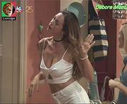 Debora Monteiro sensual na novela Paixão