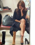 Monica Cruz | Trying some new Shoes | 8 leggy pics