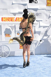 Bai Ling - Arrives At The 2015 MTV Movie Awards In L.A. (4/12/15)