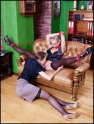 Eufrat & Michelle - Naughty Secretaries - x204 t1sm2psfsg.jpg