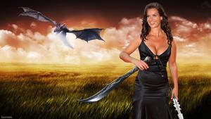 Katarina Witt - Halloween Special Wallpaper 1x