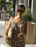 Джордана Брюстер, фото 1211. Jordana Brewster - Leggy Shopping Petit Tresor, West Hollywood - 24/08/11, foto 1211