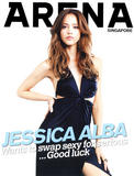 Jessica Alba in Arena Singapore - 4 Scans